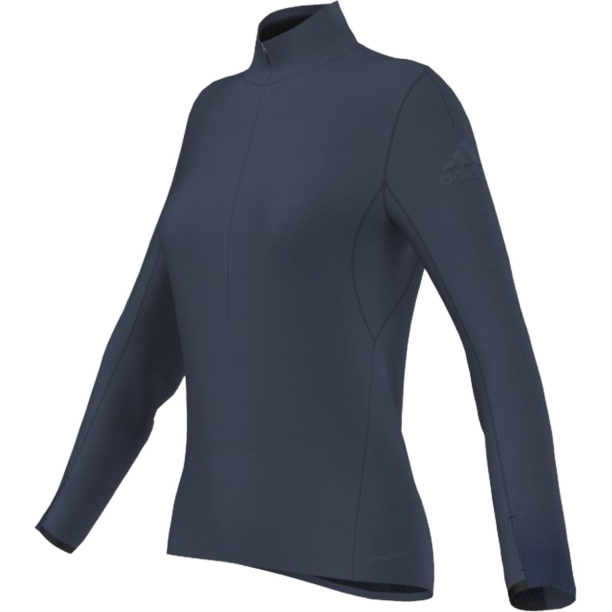 Adidas Climaheat Half-Zip T-Shirt - Women