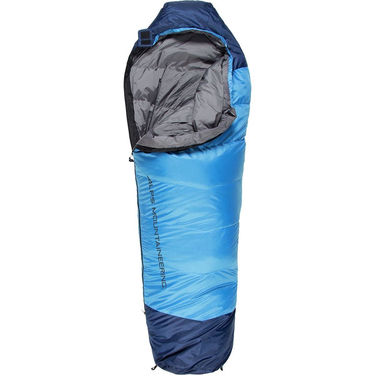 ALPS Mountaineering Quest 20 Down Sleeping Bag: 20 Degree Down Blue, Regular