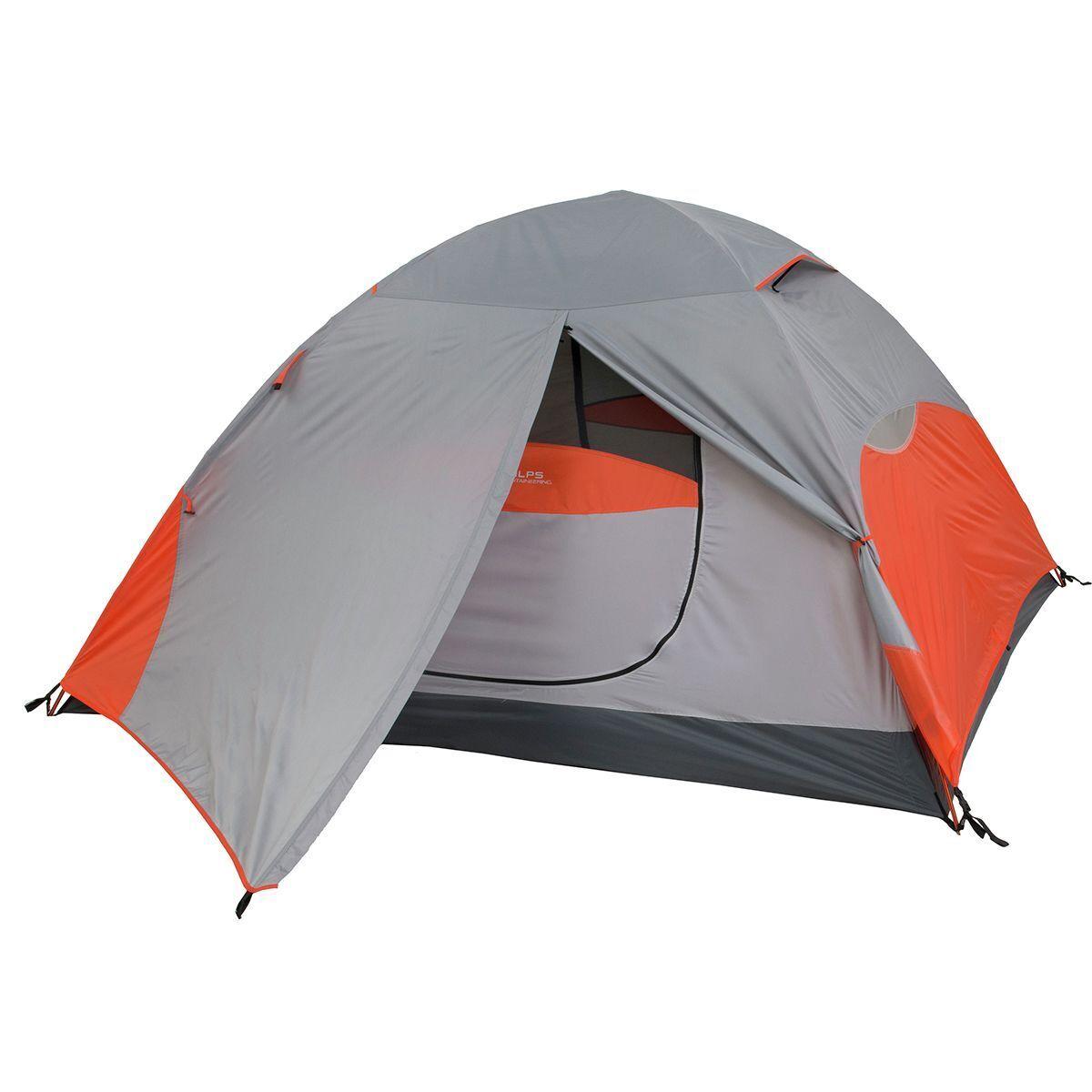 ALPS Mountaineering Koda 3 Tent: 3-Person 3-Season Orange/Grey, One Size