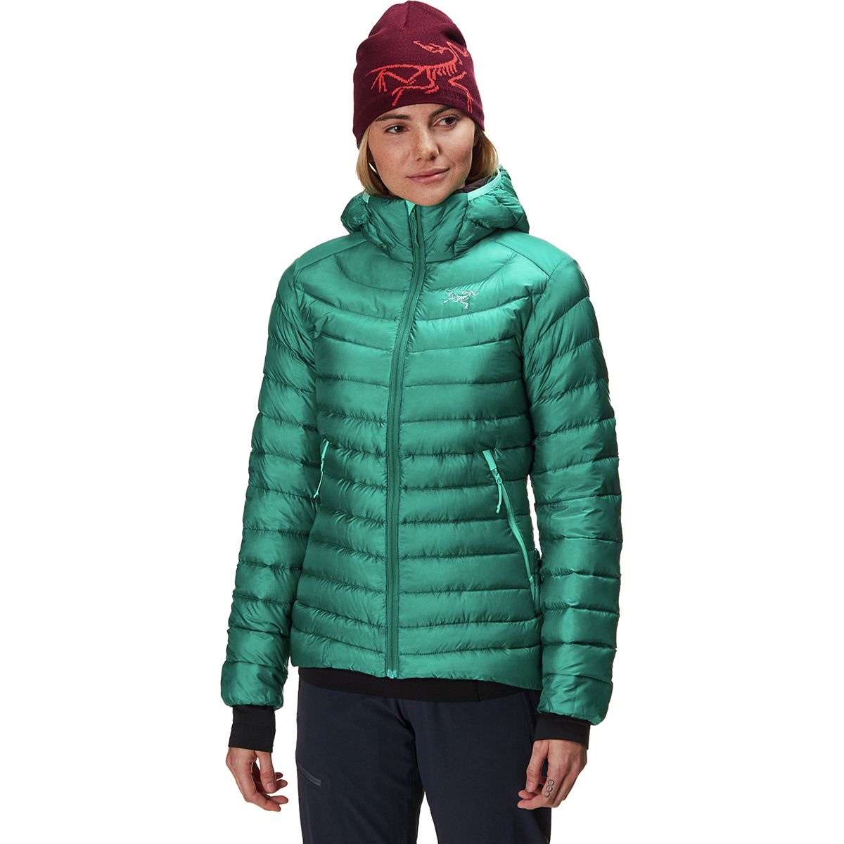 Cerium LT Hooded Down Jacket - Women