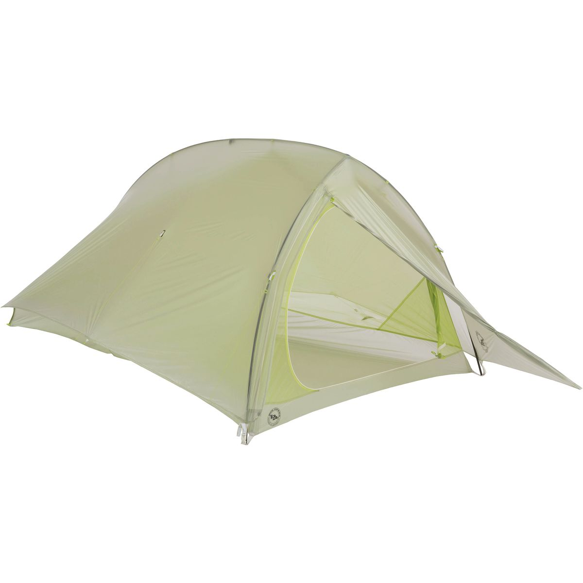 Big Agnes Fly Creek 2 Platinum HV Tent: 2-Person 3-Season Gray/Green, One Size