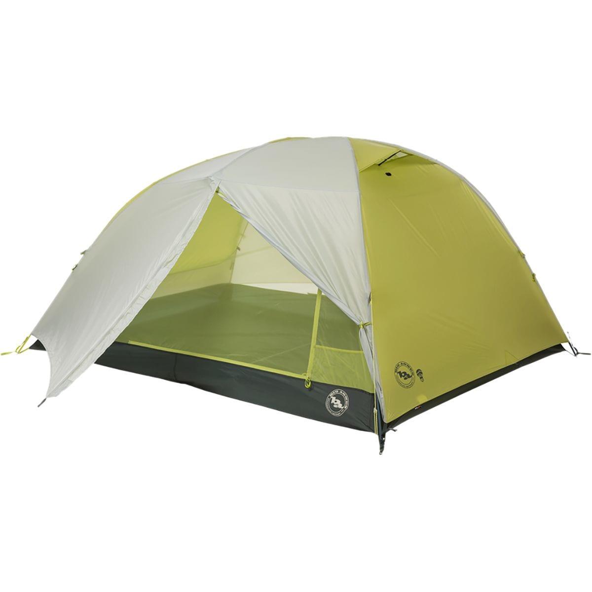 Big Agnes Manzanares HV SL 3 mtnGLO Tent - 3 Person 3 Season Gray-Green, One Size