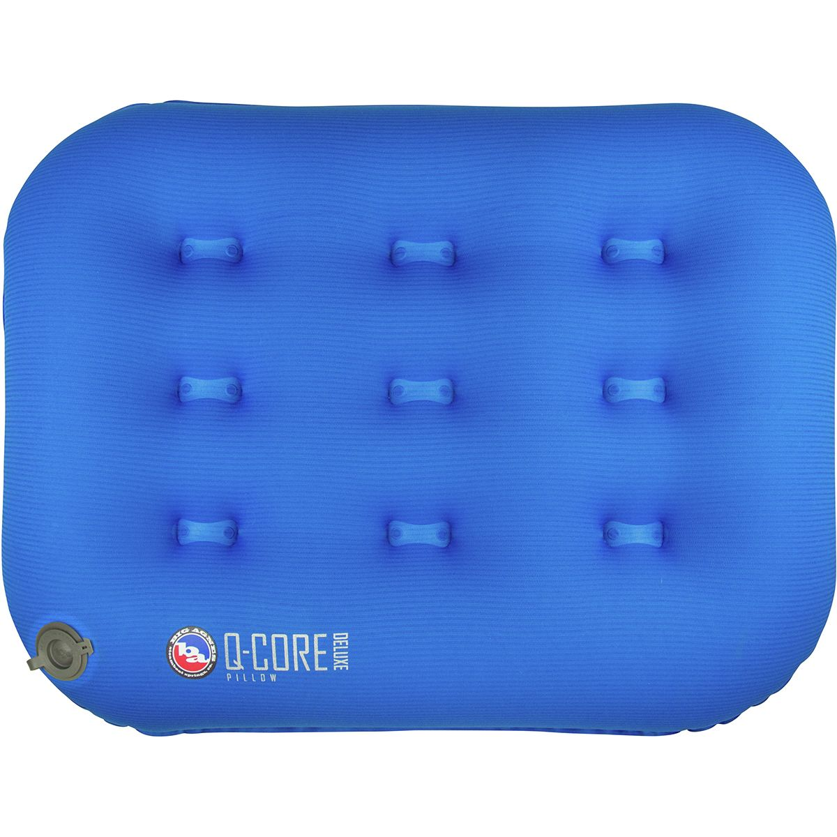 Big Agnes Q-Core Deluxe Pillow Blue, One Size