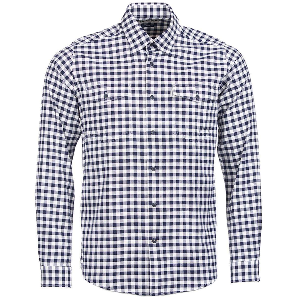 Barbour Hillswick Long Sleeve Shirt Mens