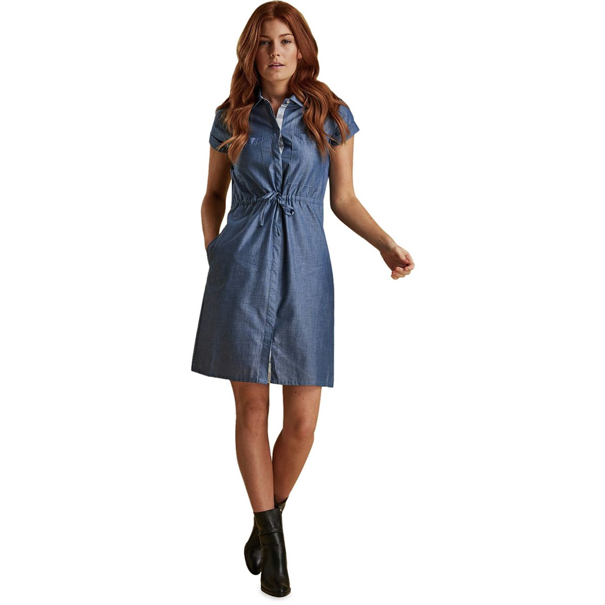 Barbour Wheatsheaf Dress Womens