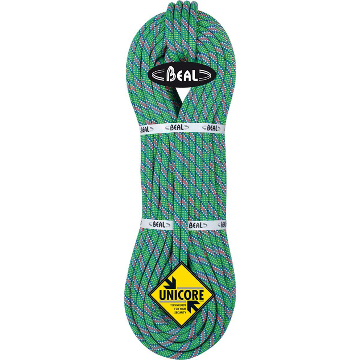 Beal Top Gun II Unicore Dry Cover Climbing Rope - 10.5mm Green, 60m