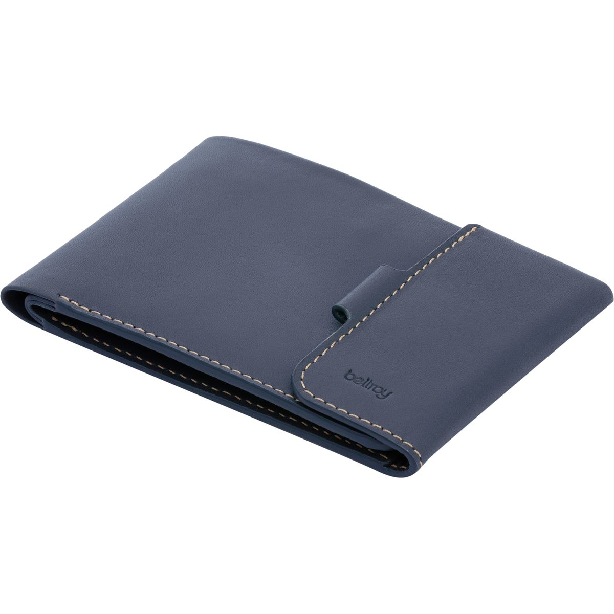 Bellroy Coin Fold Wallet  Mens Blue Steel One Size