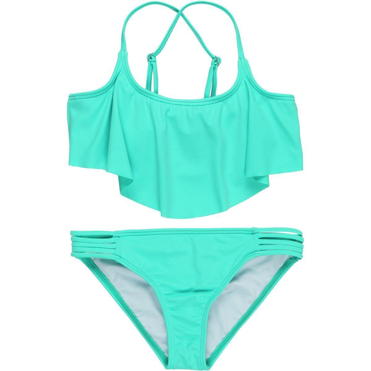Billabong Sol Searcher Flutter Swimsuit - Girls