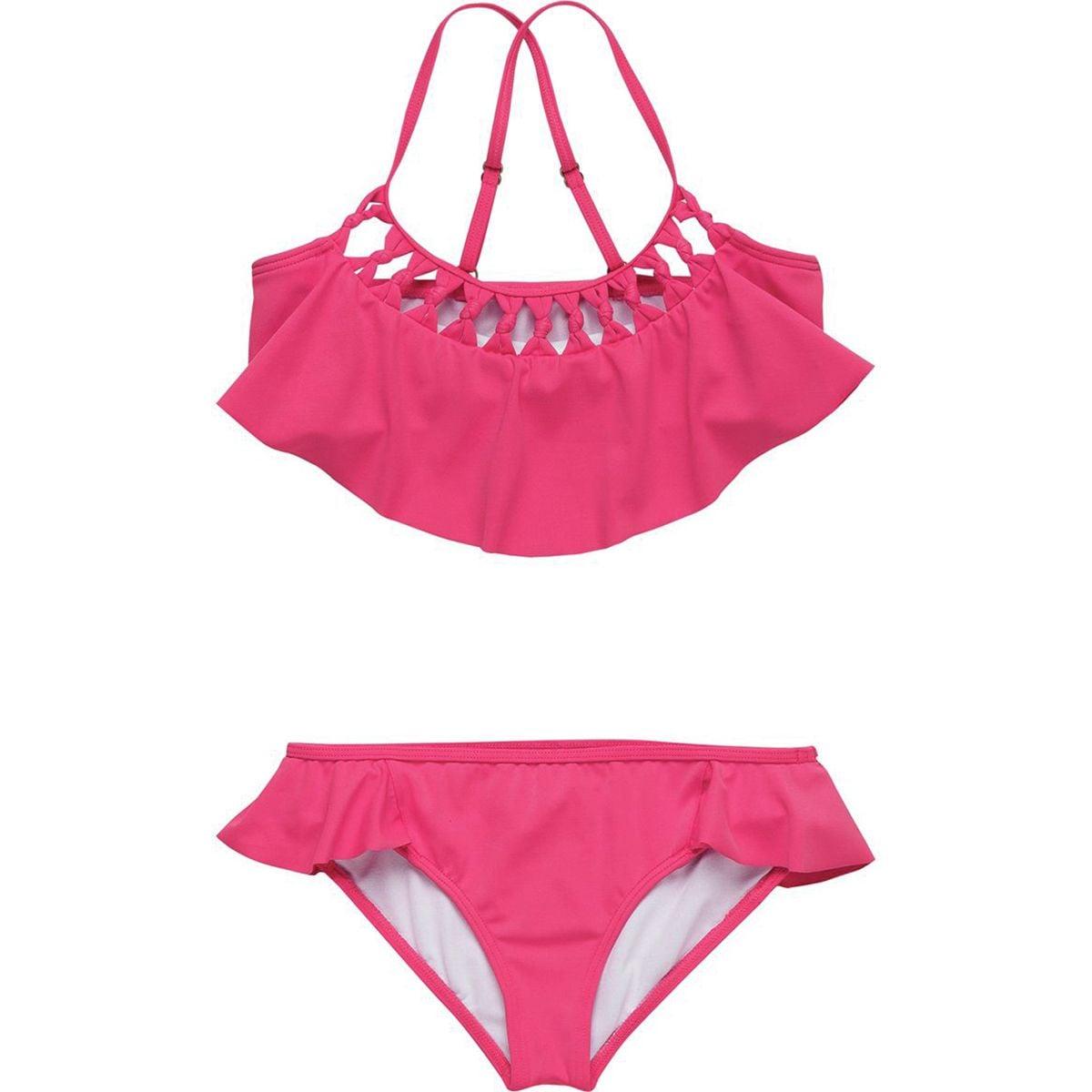 Billabong Macrame Madness Flutter Bikini - Girls