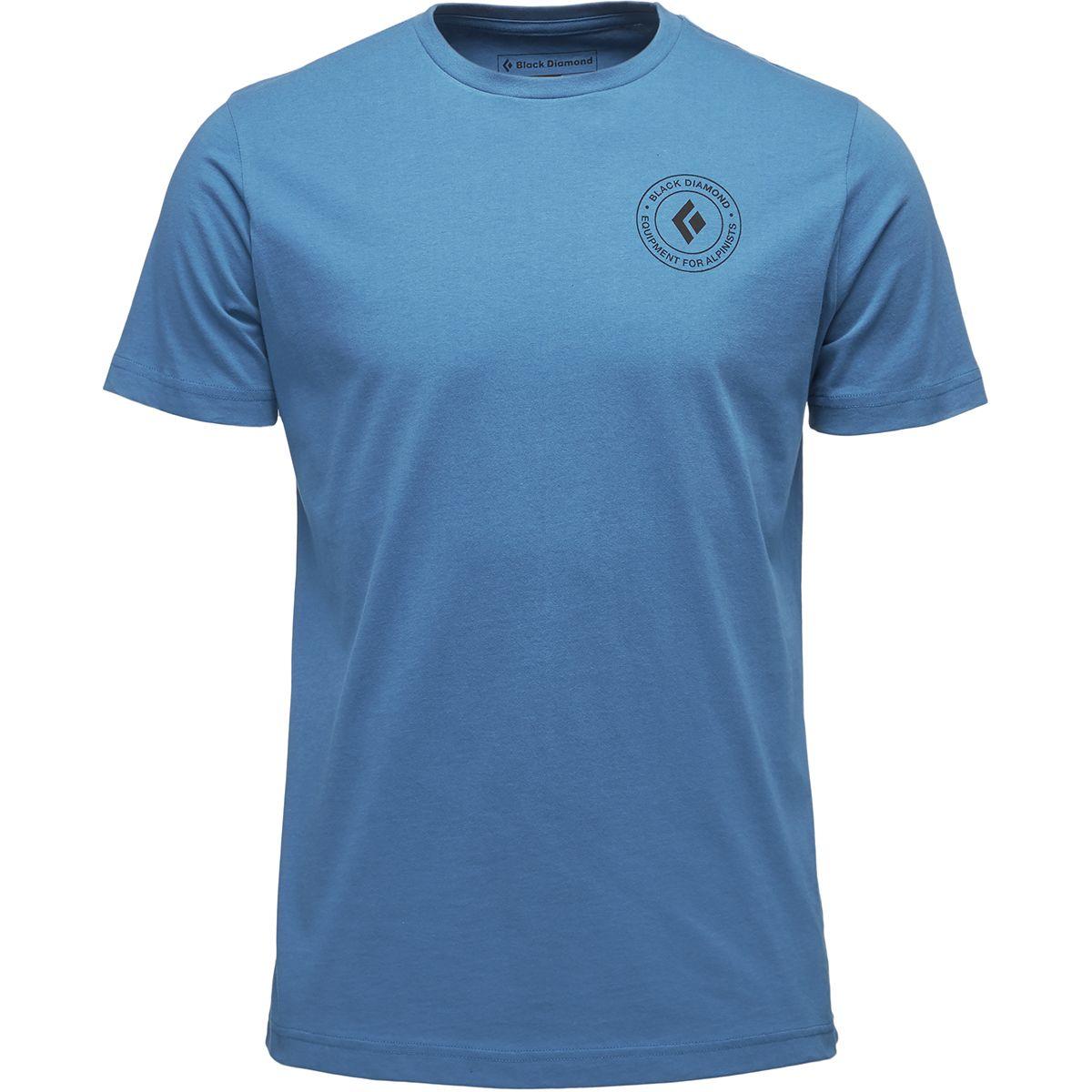 Black Diamond Circle Logo T-Shirt - Men's