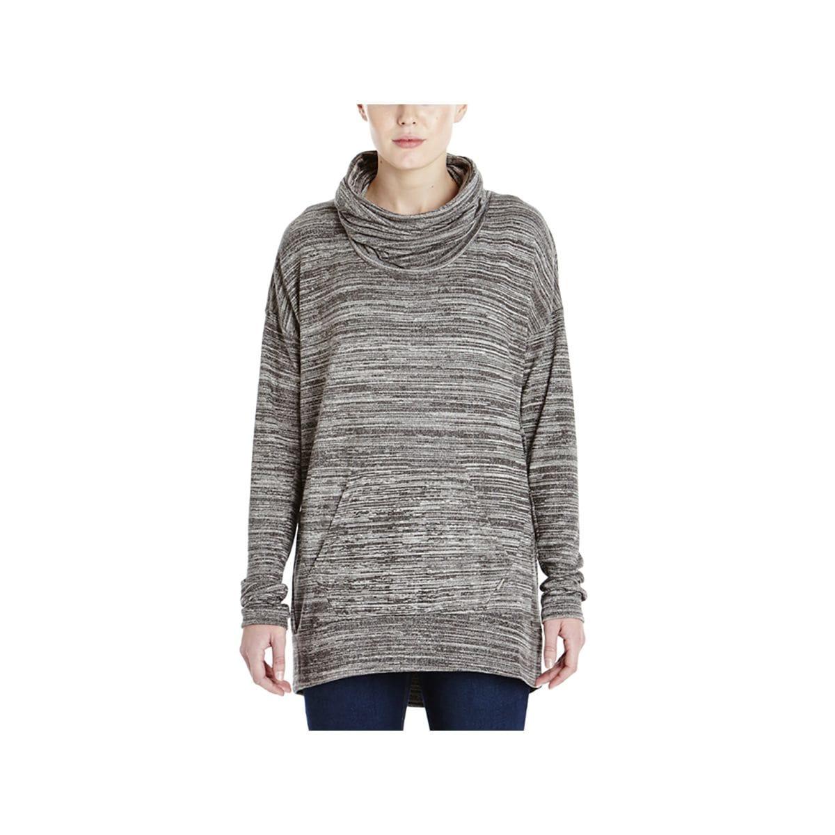 Bench Addition Crew Sweatshirt  Womens Dark Shadow Marl L