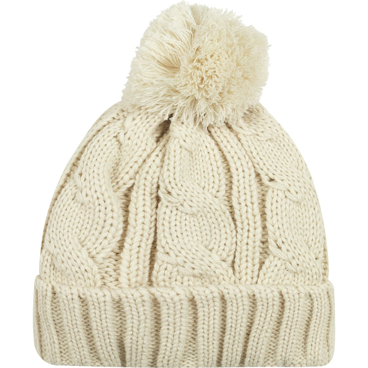 Basin And Range Cable Pom Beanie