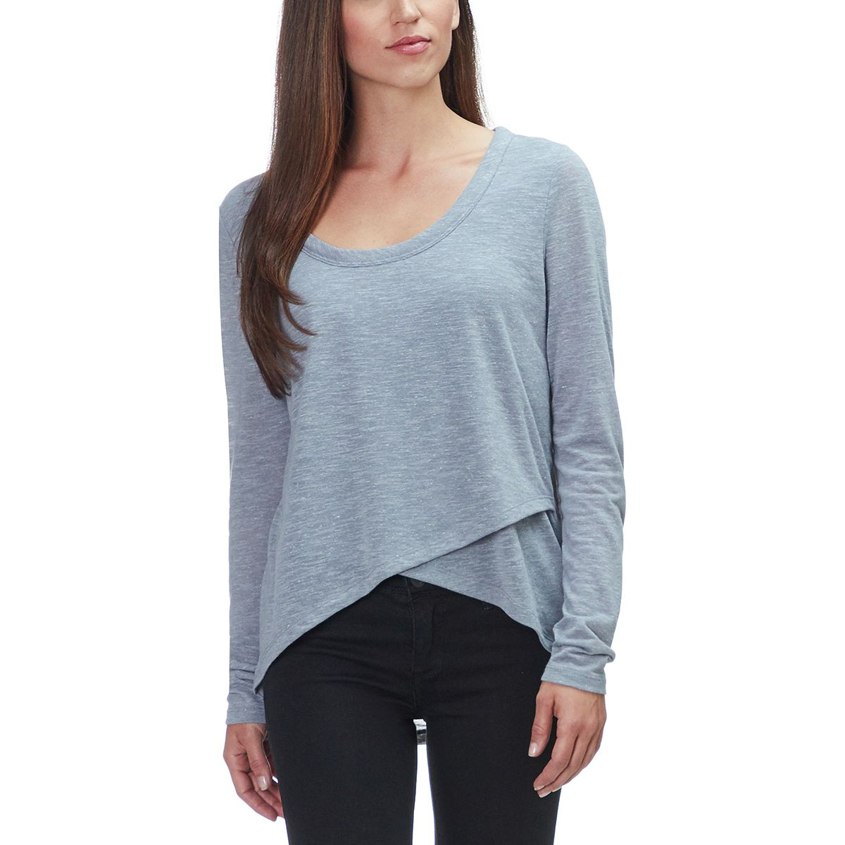 Basin And Range Crossover Long Sleeve Top Womens