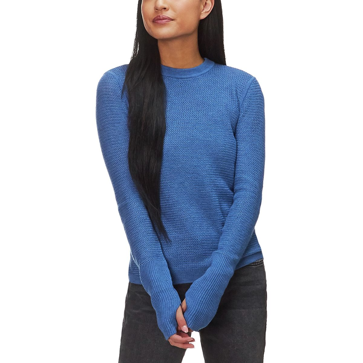 Basin And Range Sheer Crew Sweater Womens