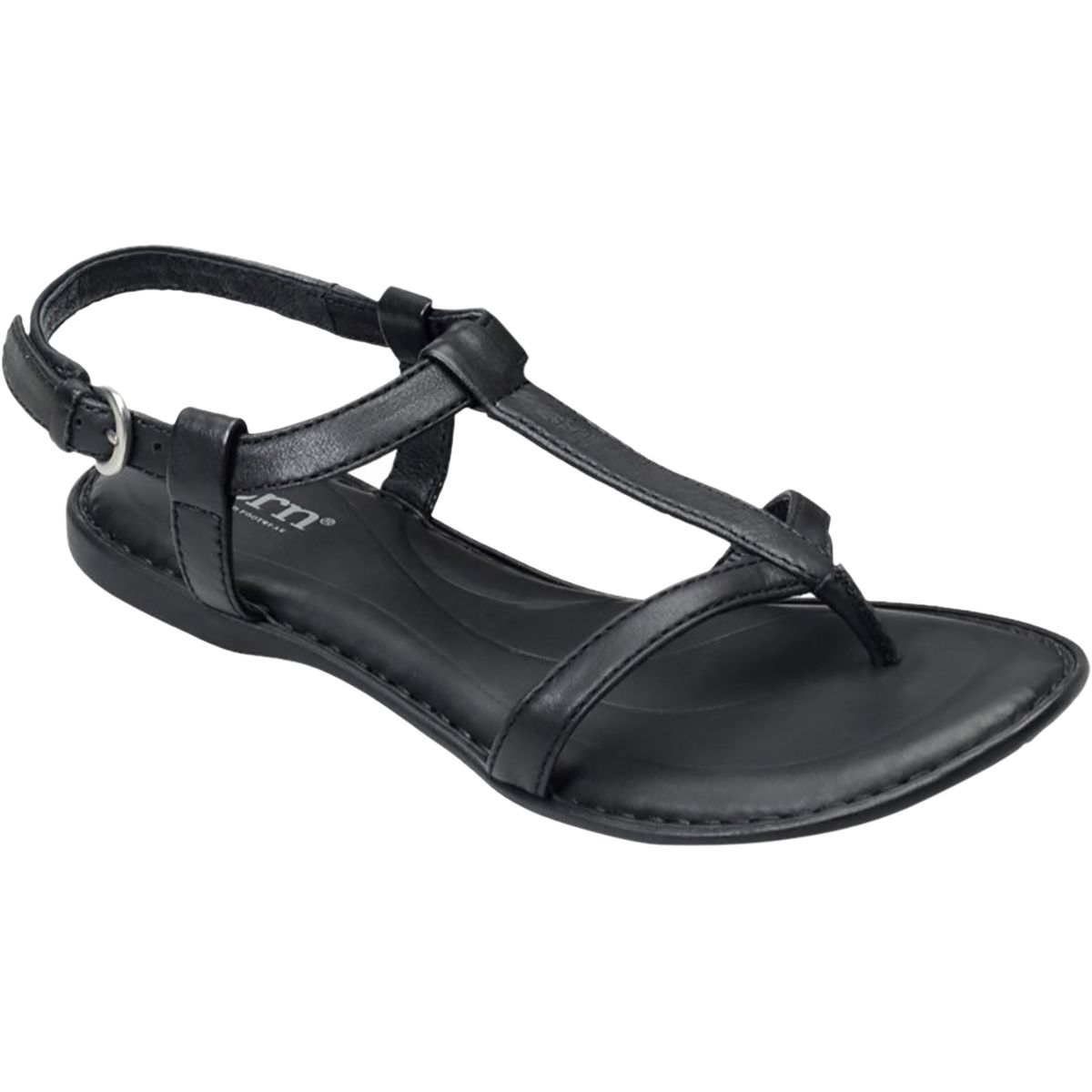 9bfe7b61a397 Born Shoes Idina Sandal Womens Black 60