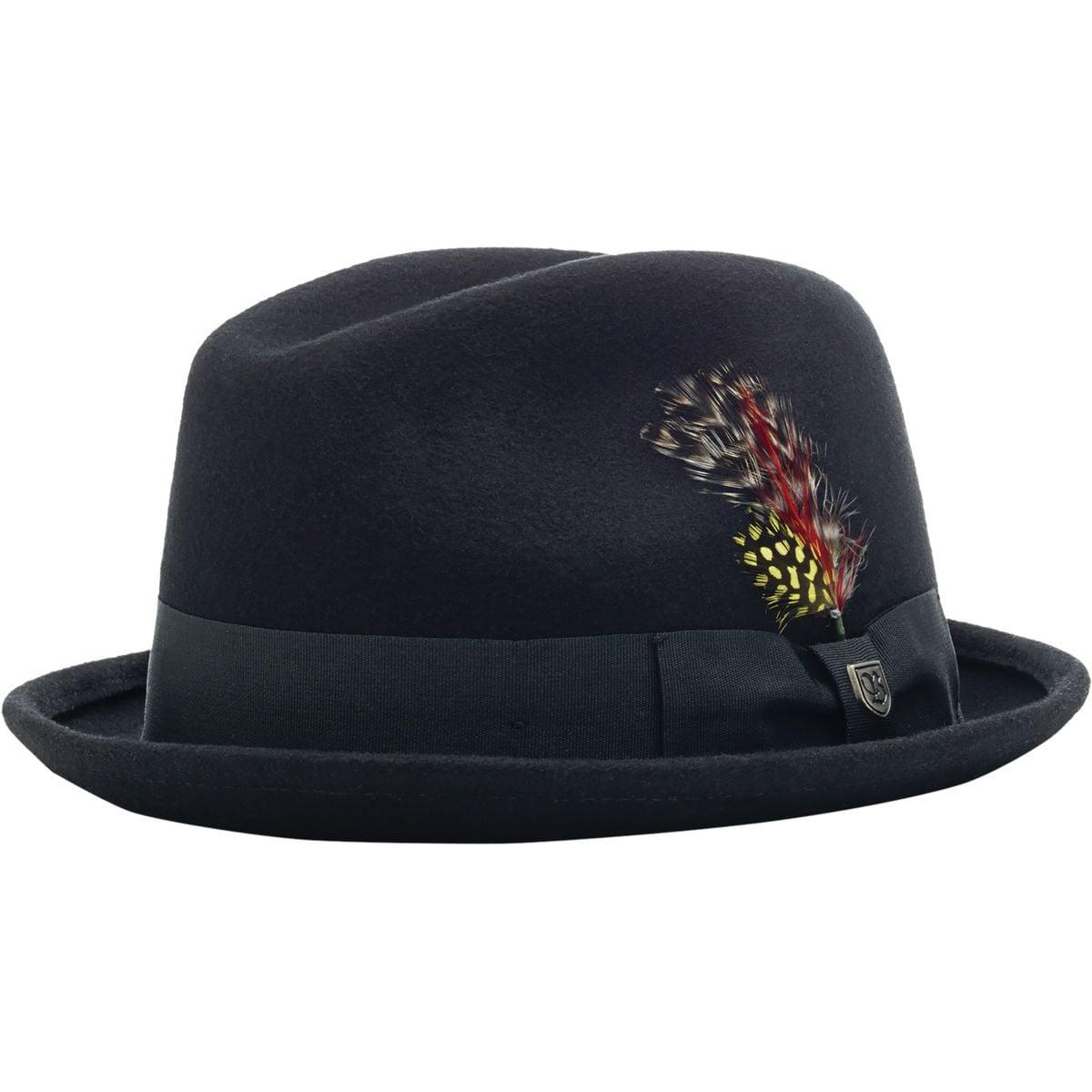 82f09533a5509 ... coupon for brixton mens fedoras gain fedora hat black medium ebay 9af97  1a55a