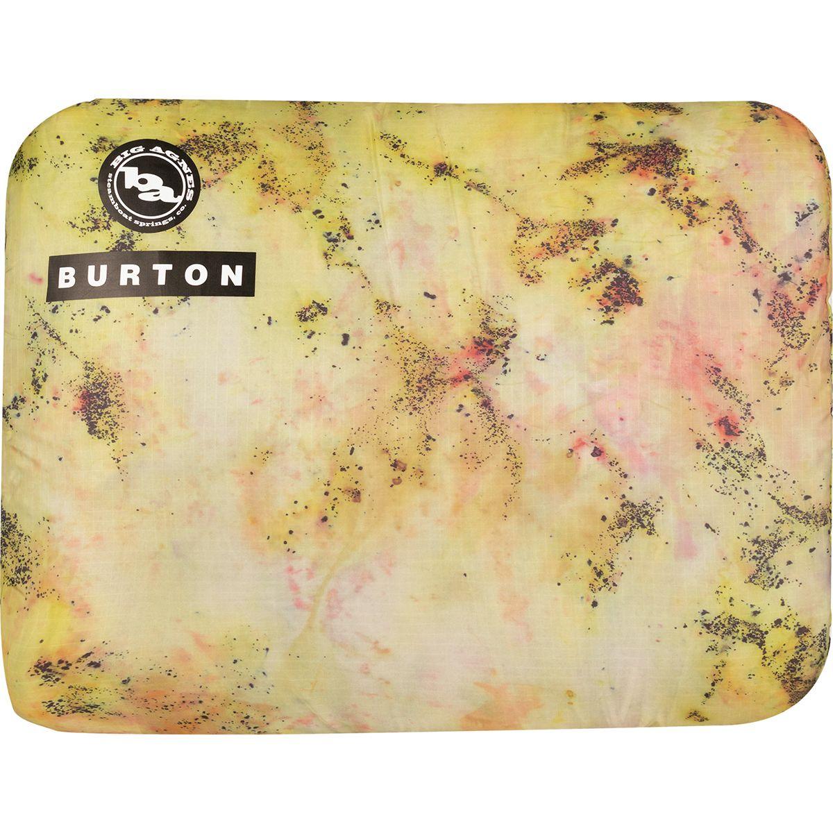 Burton Lights Out Big Agnes Collab Pillow Sadie A Print, One Size