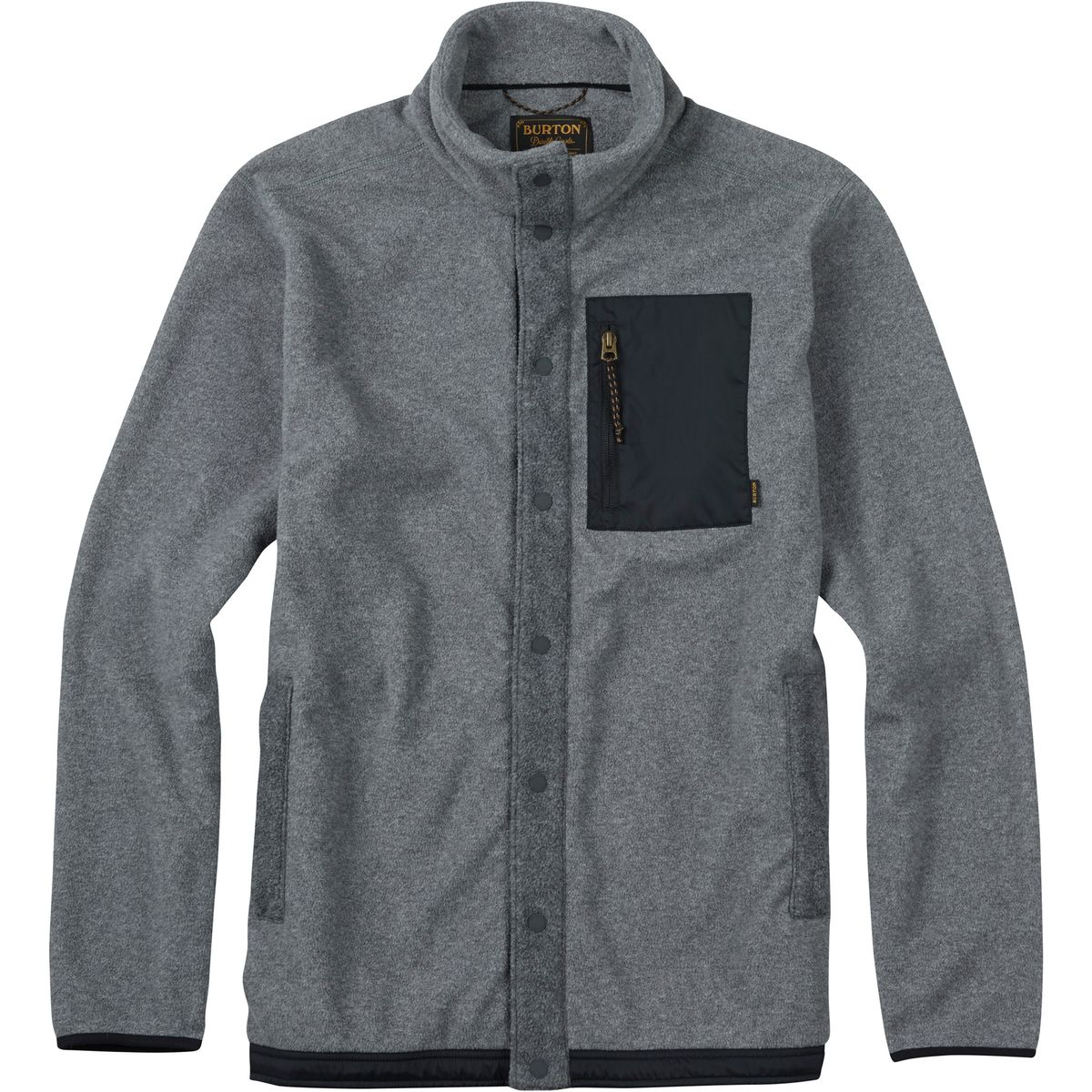Burton Hearth Snap-Up Fleece Jacket - Men