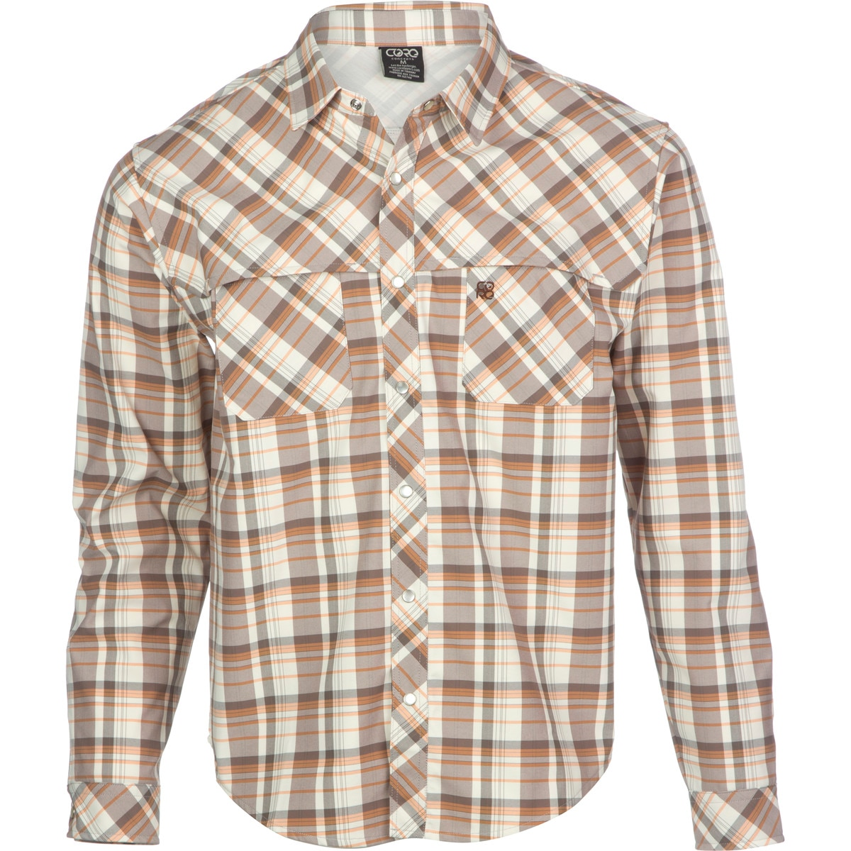 photo: Core Concepts Whiskey River Hybrid Shirt hiking shirt
