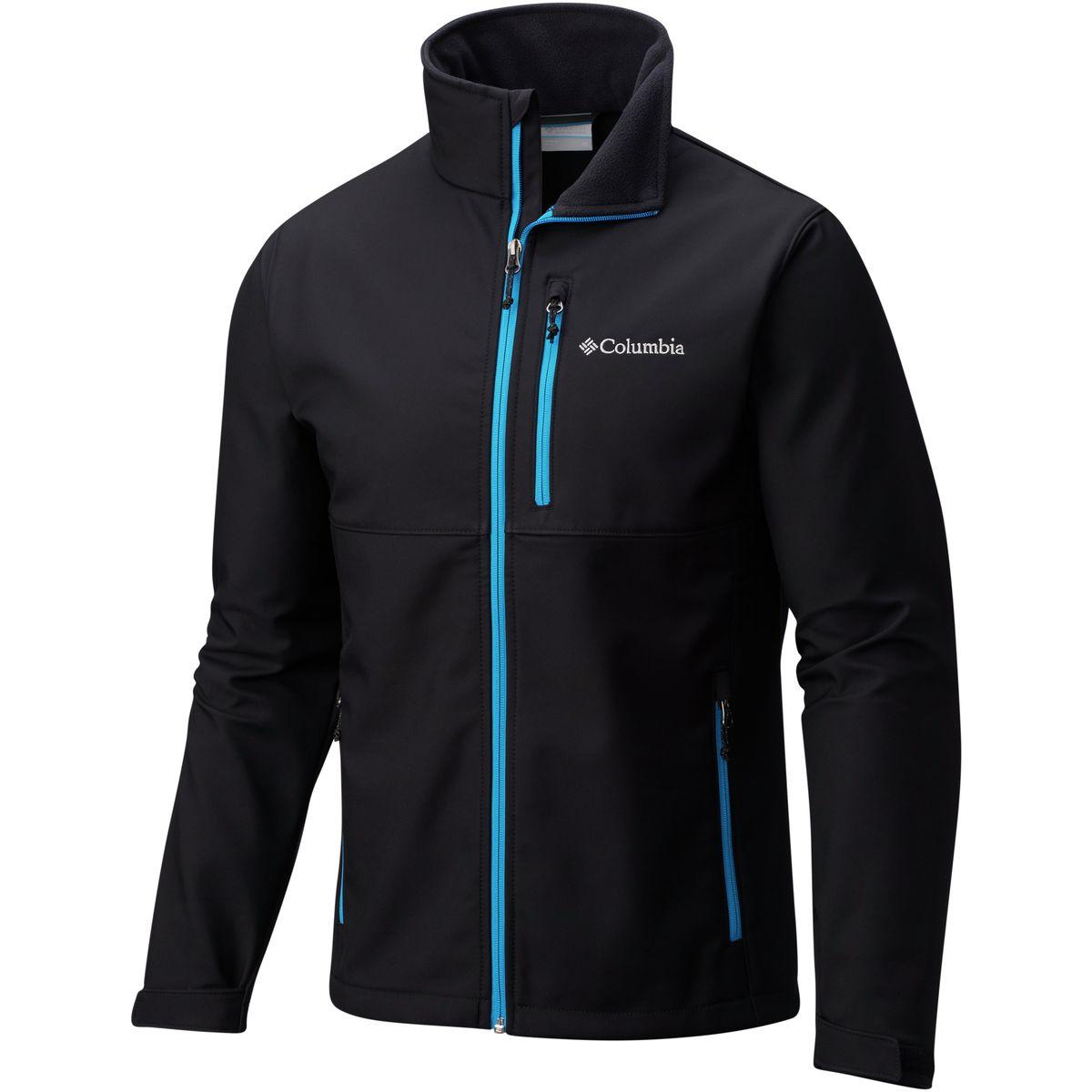 Columbia Ascender Softshell Jacket - Black/Dark Compass