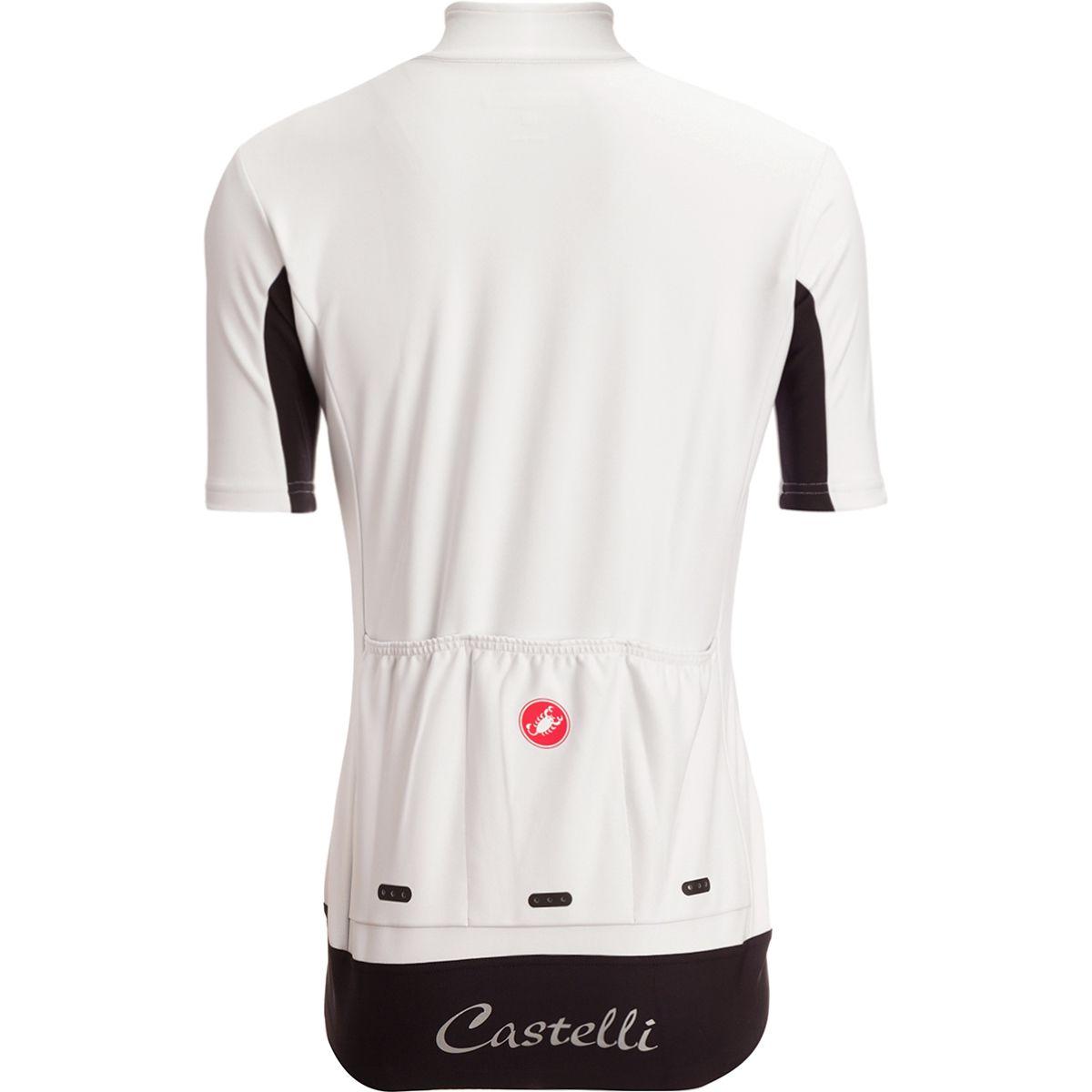 0185a75d1 Castelli White 2018 Gabba 2 Womens Short Sleeved Cycling Jersey S