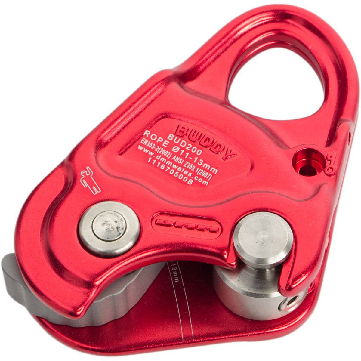 photo: DMM Buddy belay/rappel device
