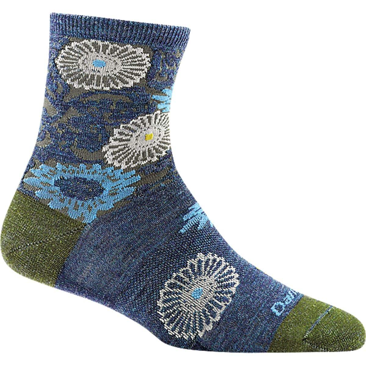 Floral Shorty Light Sock - Women