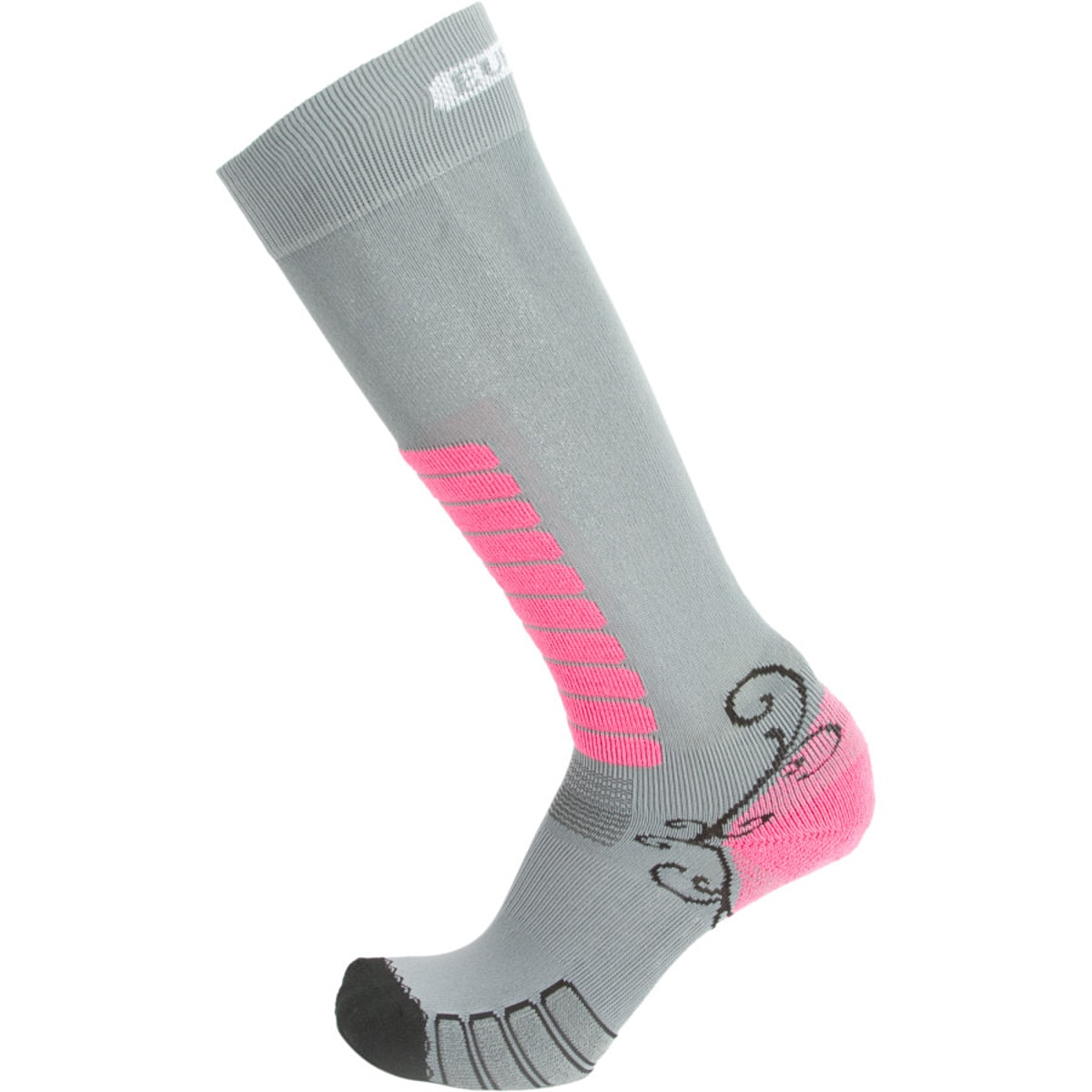 Sweet Silver Ski Sock - Women