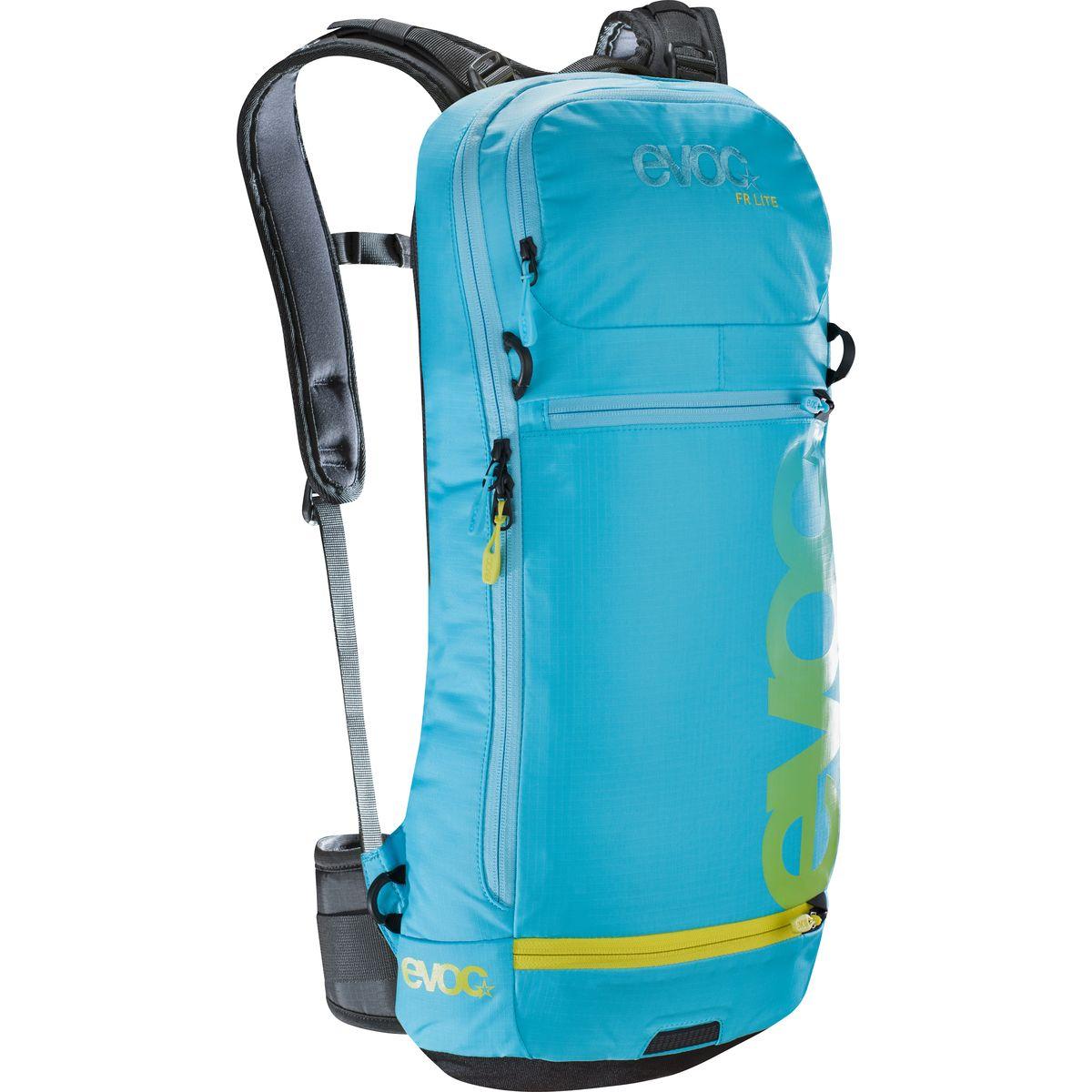 Evoc FR Lite Protector Hydration Backpack Neon Blue, M/L