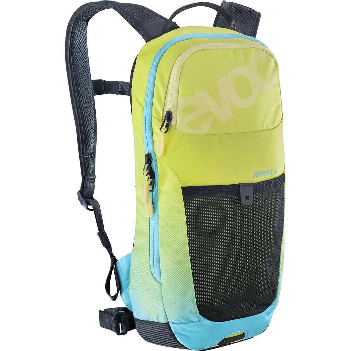 Evoc Joyride Hydration Backpack - Kids' Sulphur/Neon Blue, One Size