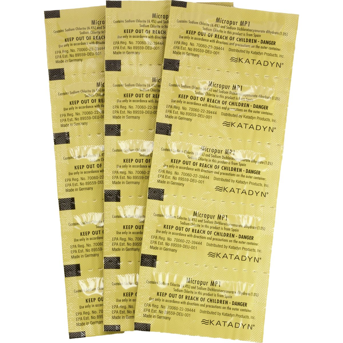Katadyn Micropur Purification Tablets - 30-Pack