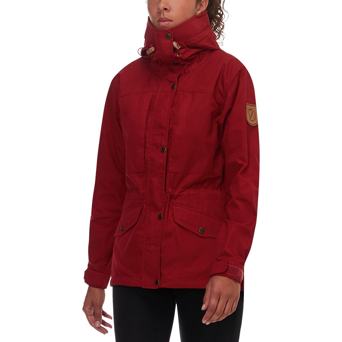 c37107a9a15 Fjallraven Singi Trekking Jacket Womens Deep Red M
