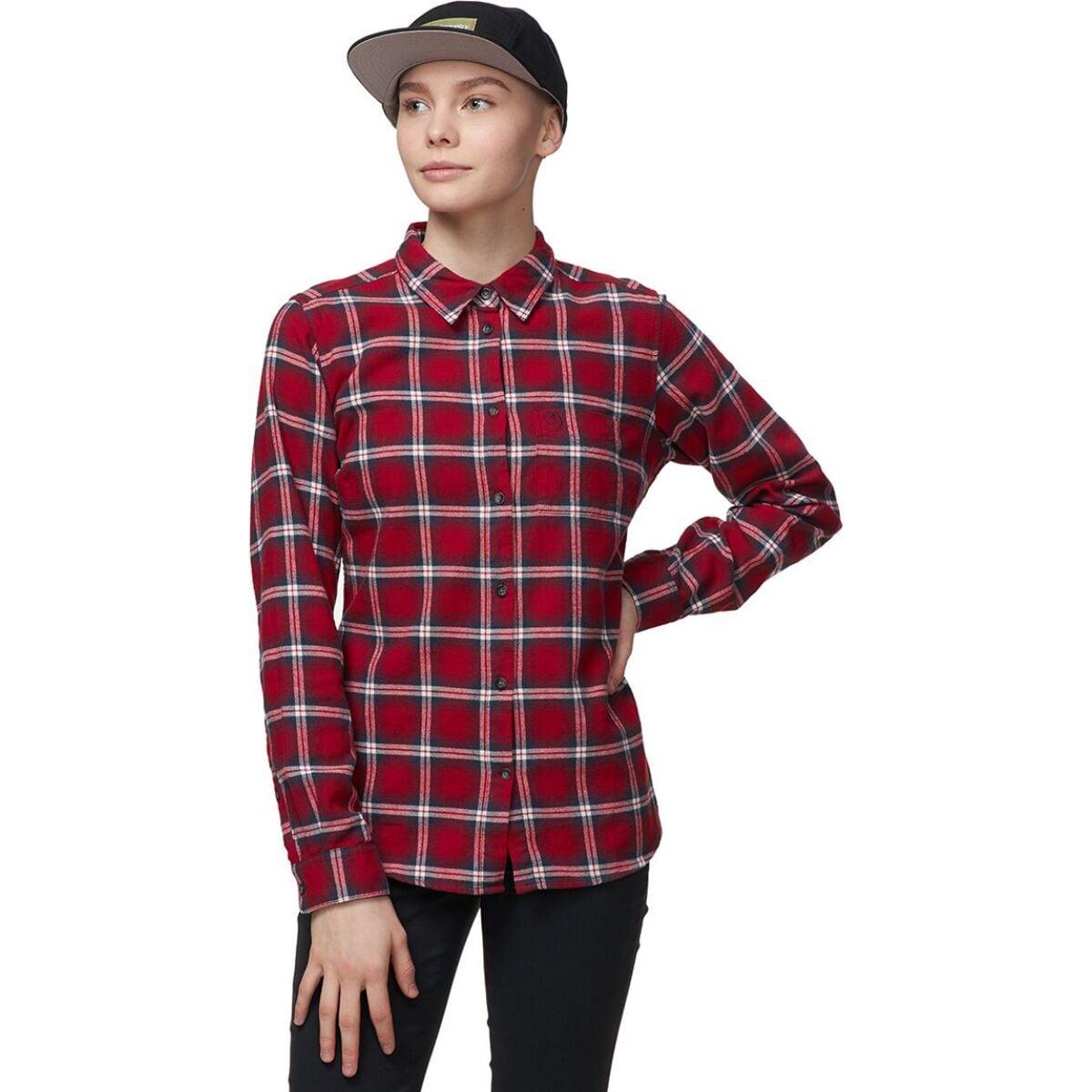 Ovik Flannel Long-Sleeve Shirt - Women