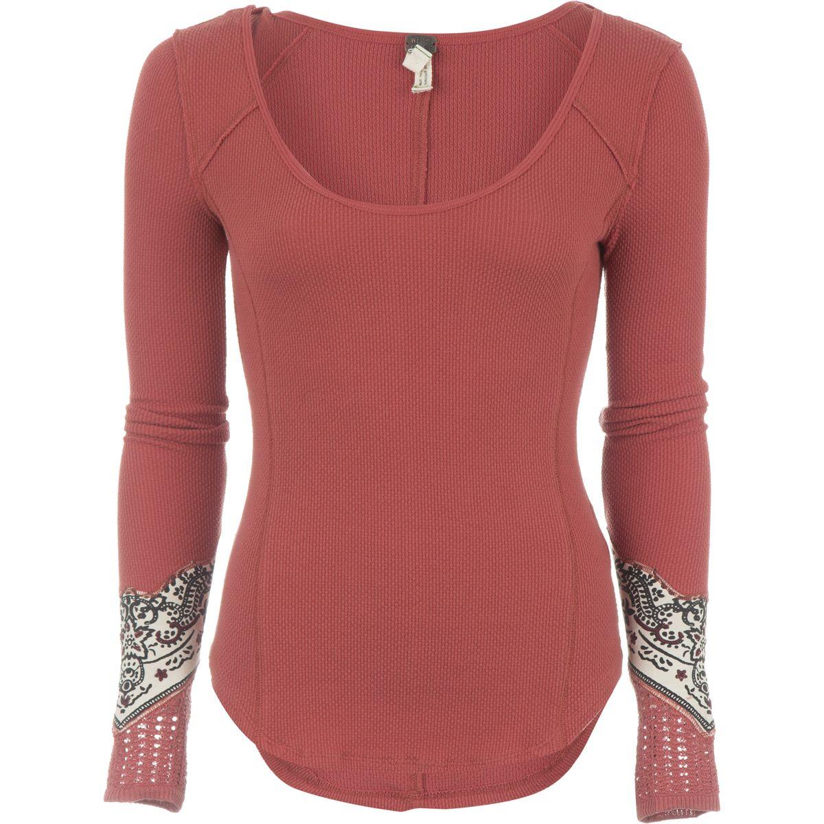 Free People Bandana Cuff Top - Long-Sleeve - Women