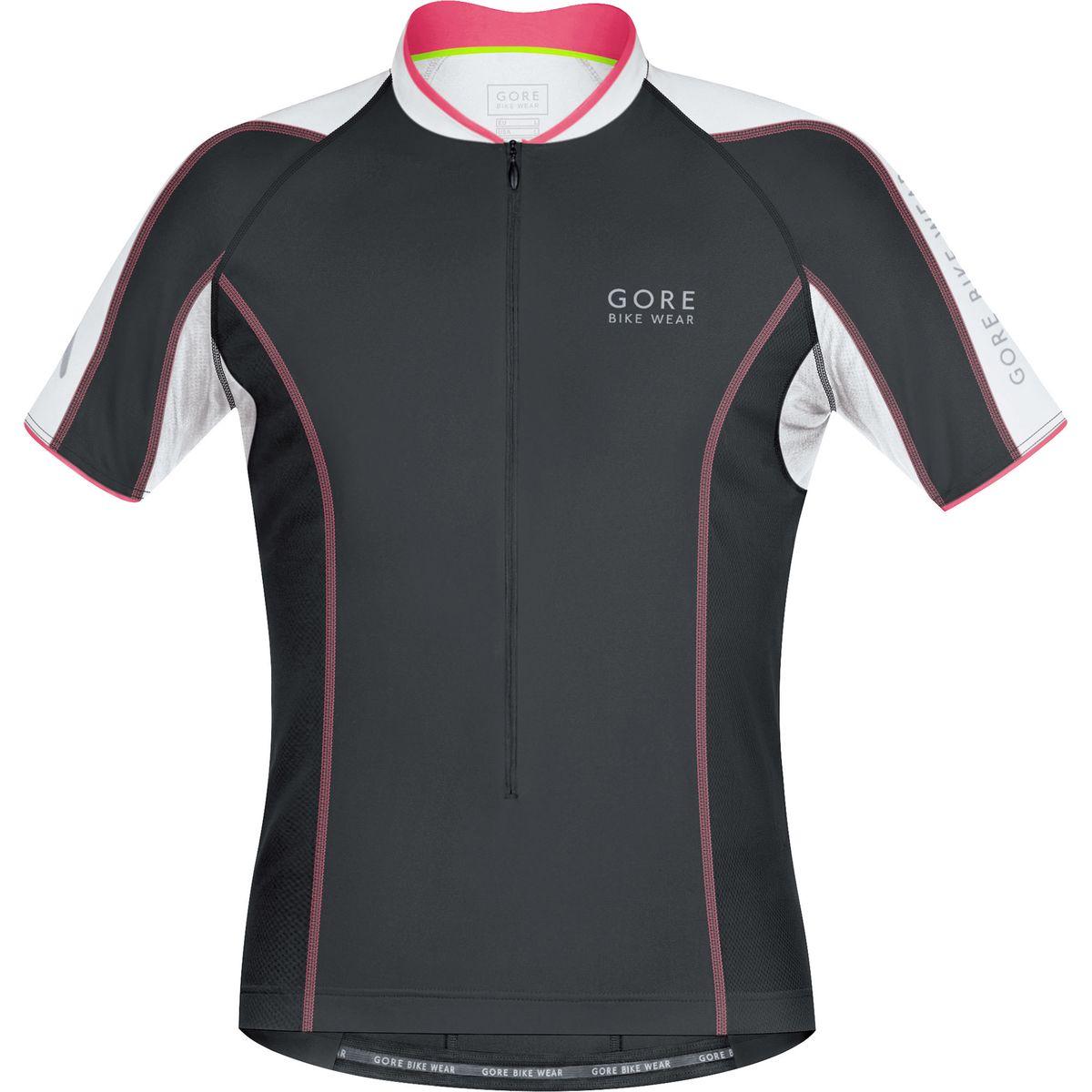 a8bb6124a Gore Bike Wear Power Phantom 20 Jersey Short Sleeve Mens Black Giro Pink S