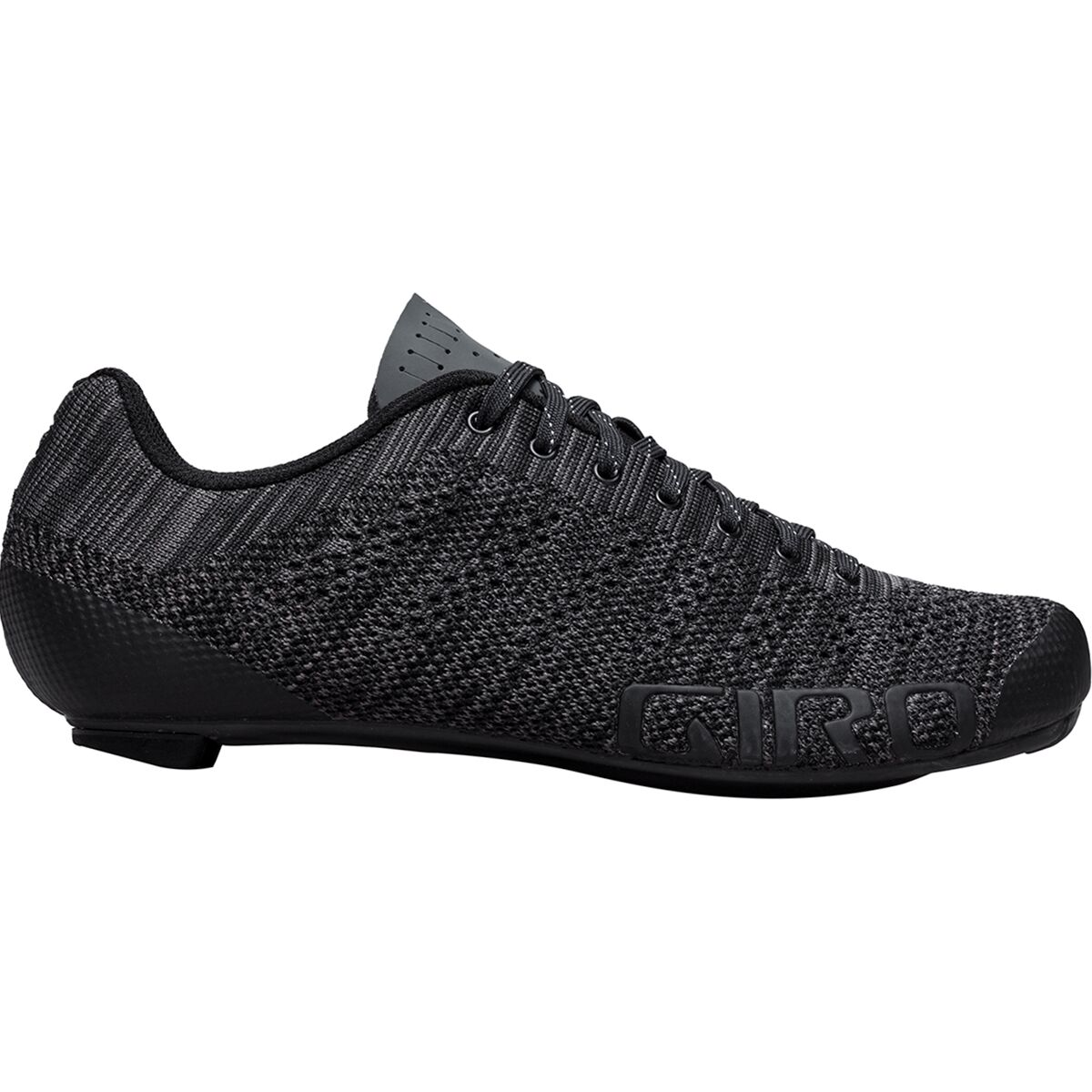 Giro Empire E70 Knit Shoe - Men's Black/Charcoal Heather, 43.5 GIR00GF-BLAHE-S435