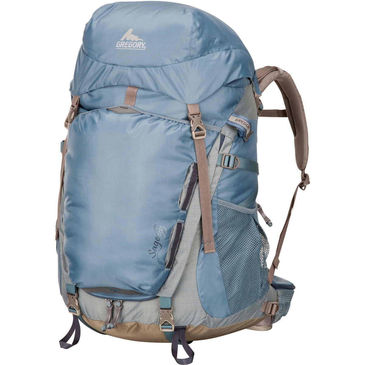 photo: Gregory Sage 55 weekend pack (3,000 - 4,499 cu in)