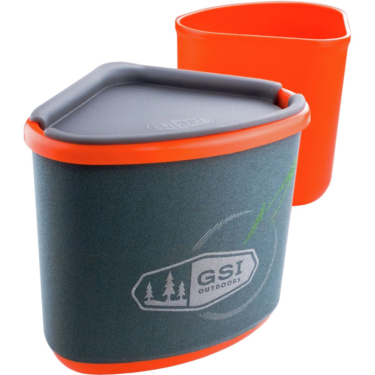 photo: GSI Outdoors Gourmet Nesting Mug and Bowl