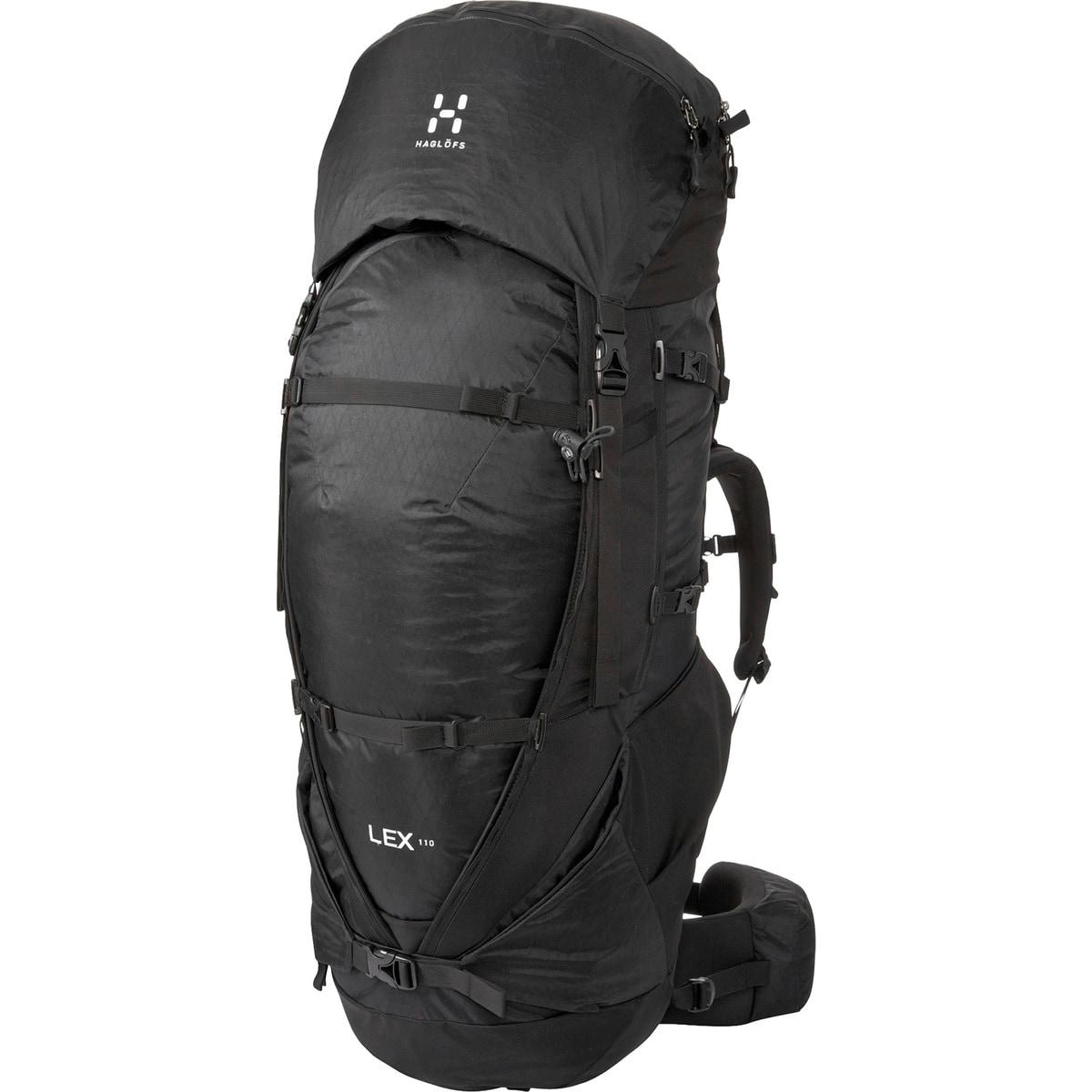 Haglofs Lex 110L Backpack True Black, One Size