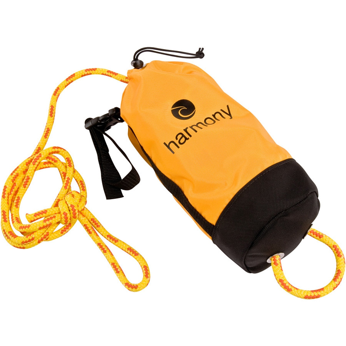 Harmony 70 Foot Rescue Throw Bag Yellow One Size