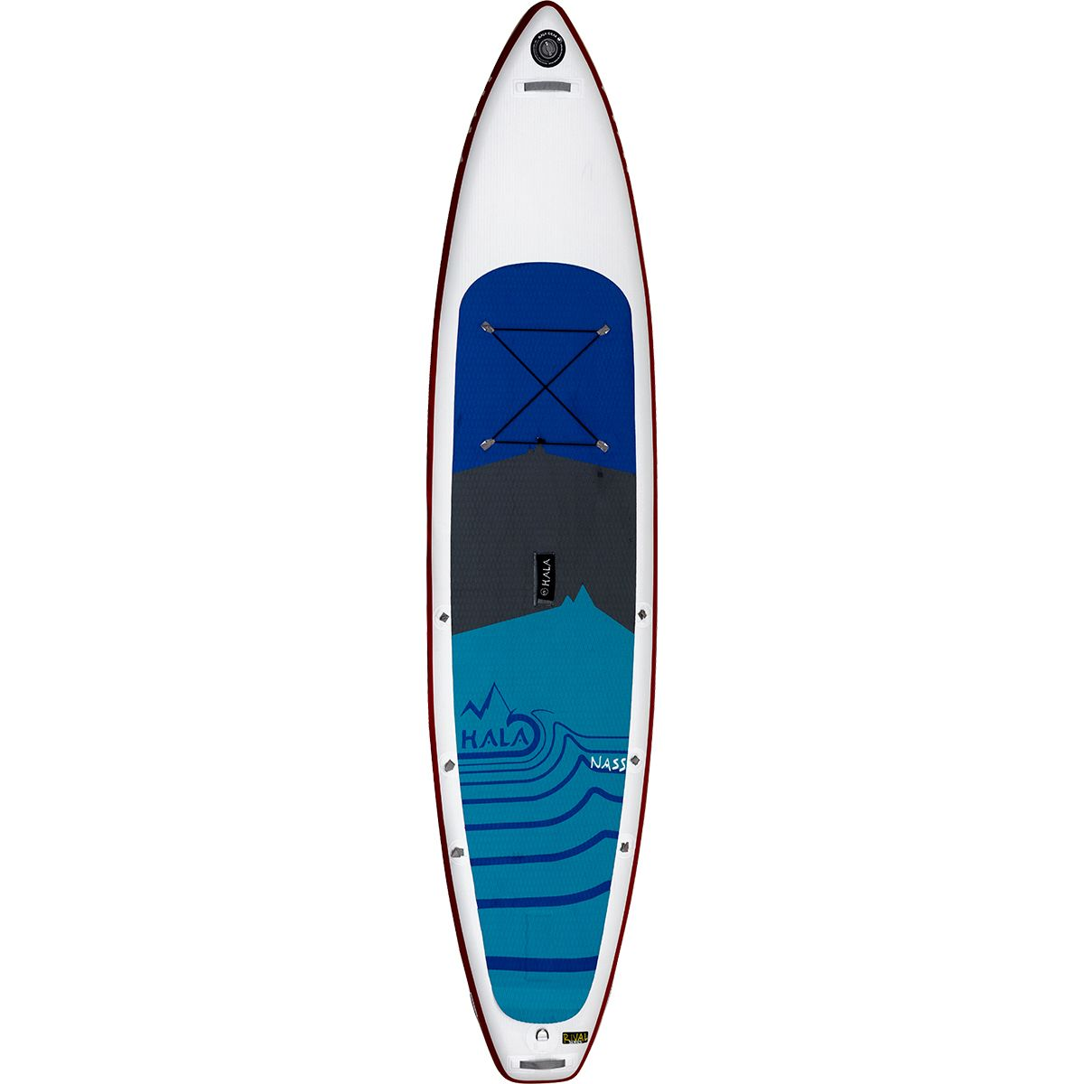 rival nass inflatable stand up paddleboard