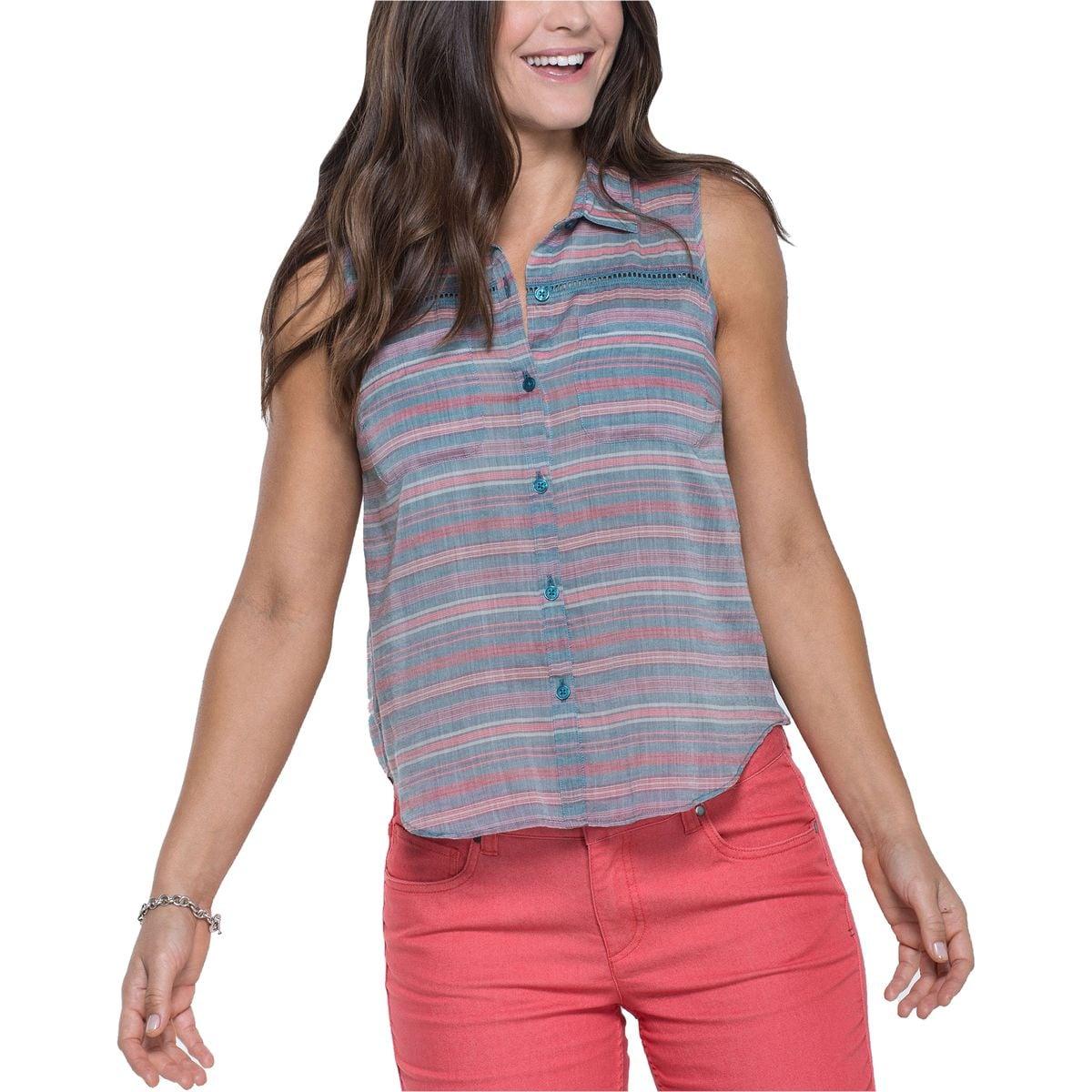 Airbrush Deco Sleeveless Shirt - Women