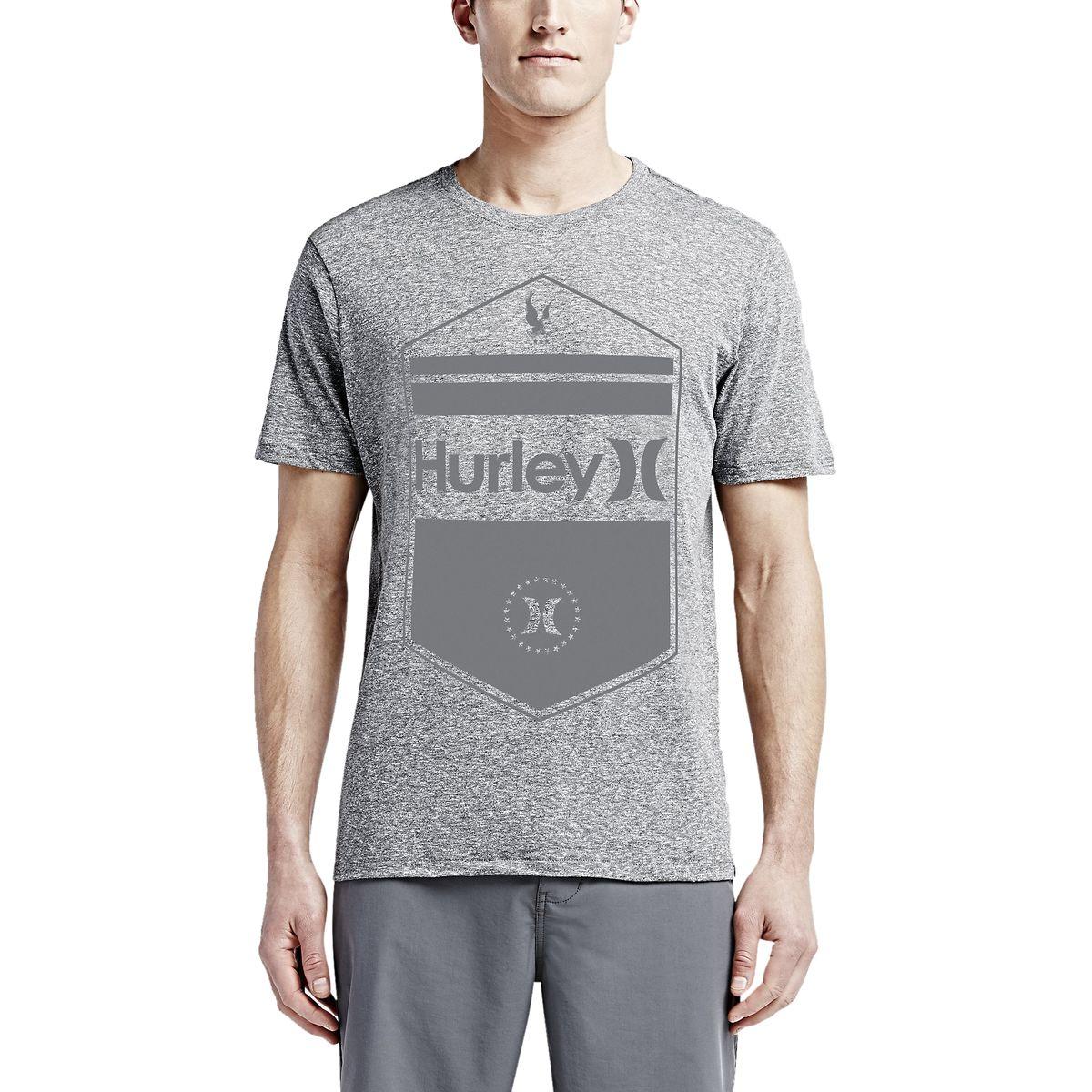 Hurley Six Points Tri-Blend Premium T-Shirt - Short-Sleeve - Men