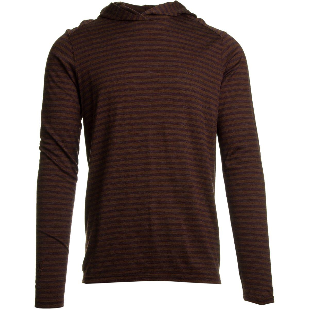 Ibex Straightaway Hooded Sweater - Men