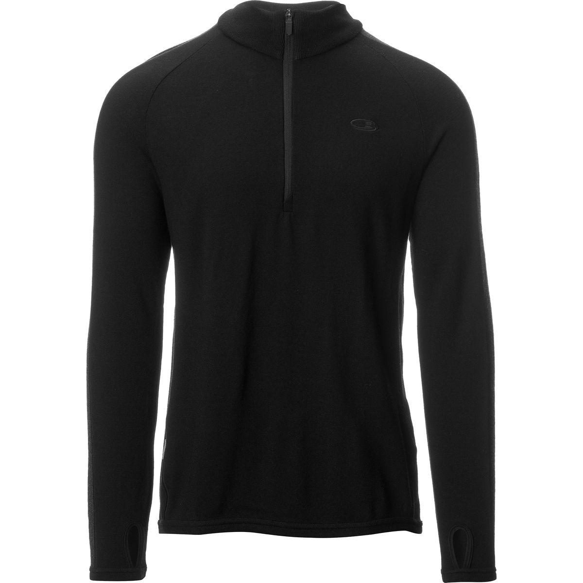 Icebreaker Coronet Zip-Neck Sweater - Men