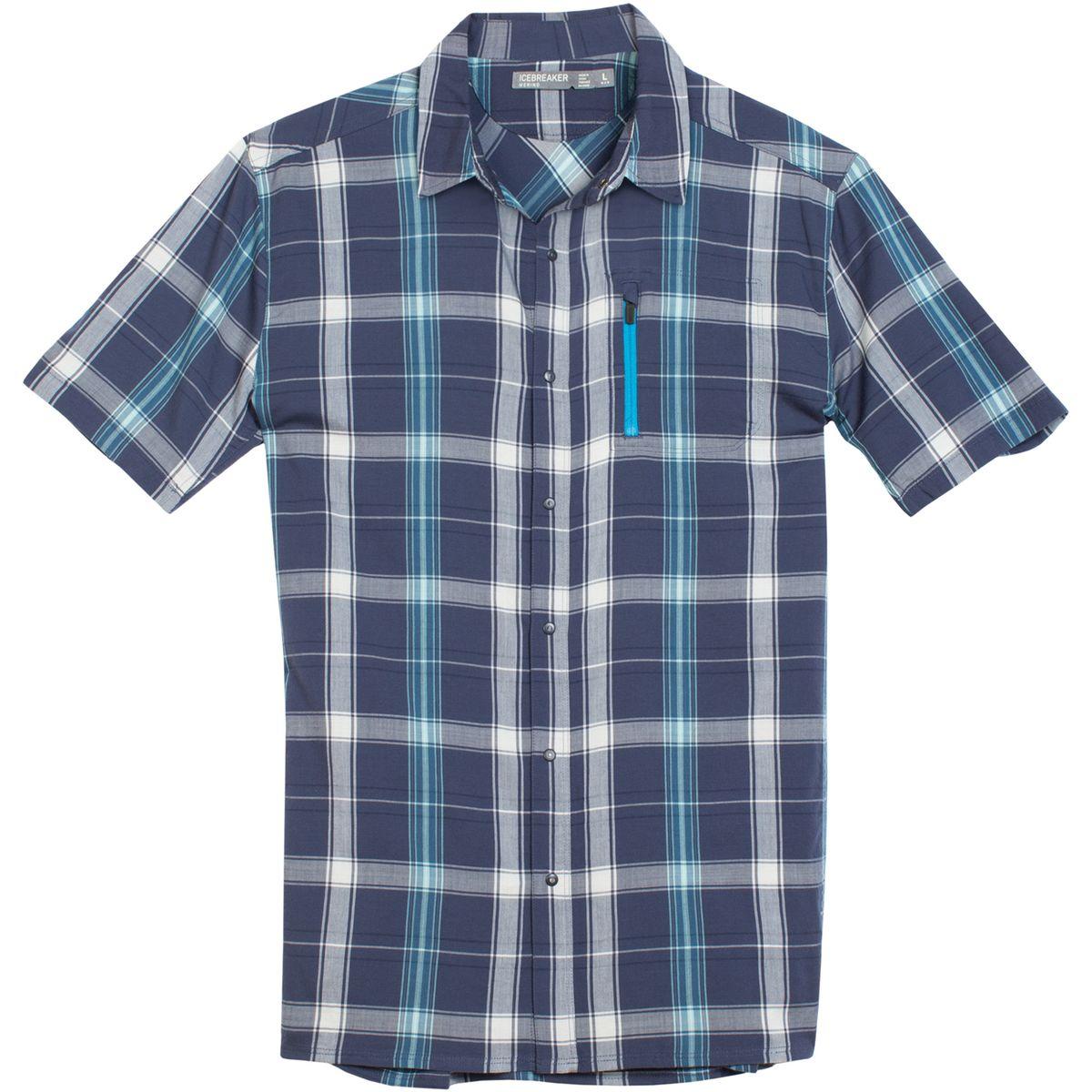 Icebreaker Compass II Plaid Shirt - Men