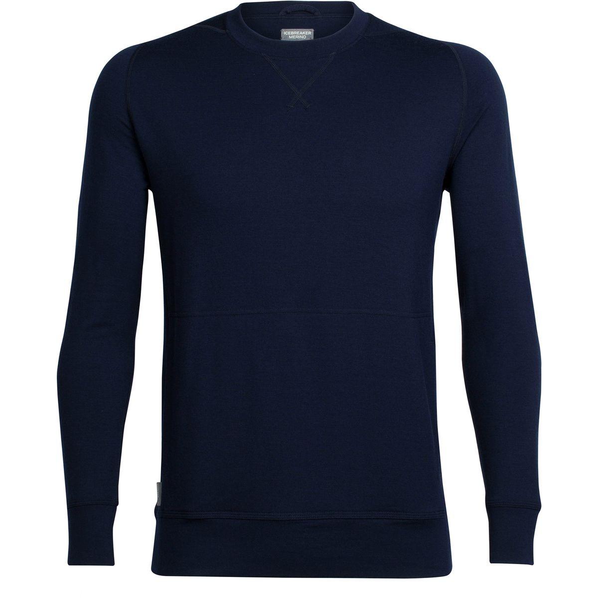 Icebreaker Shifter Long-Sleeve Crew Sweater - Men
