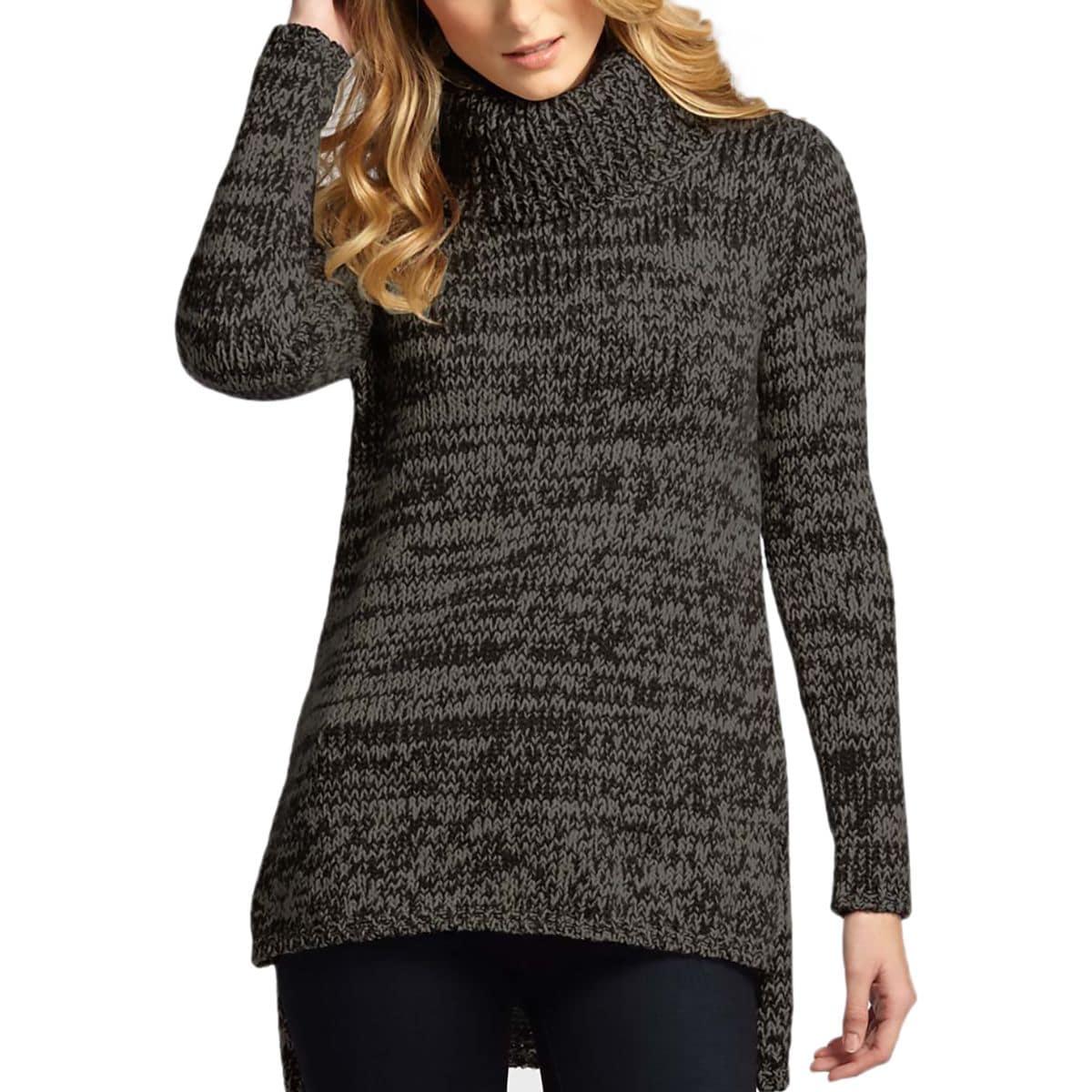 Indigenous Designs Cozy Melange Tunic Sweater - Women