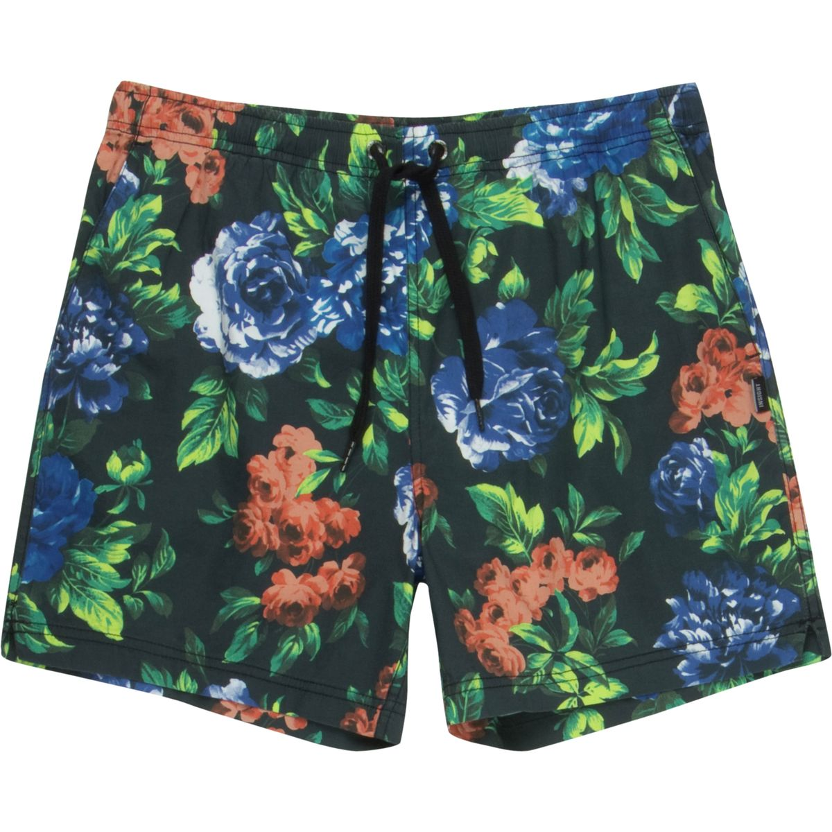 Insight Blue Note Beach Short  Mens Blue Note Floral 30