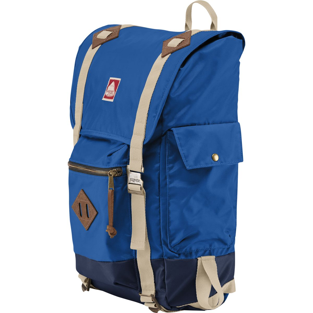JanSport Adobe Backpack Blue Streak One Size